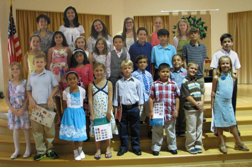 2012 Spring Piano Recital Student Participants - Group 2