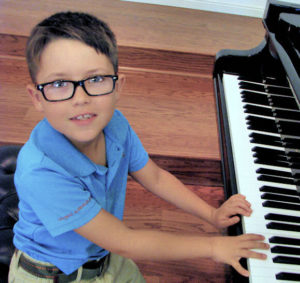 One of our piano students! :-)